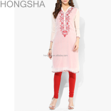 Ladies Kurta Embroidery Designs Pakistani Style Women Long Kurta HSD1354
