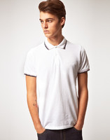 promotional cheap original white plain polo shirts for men wholesale