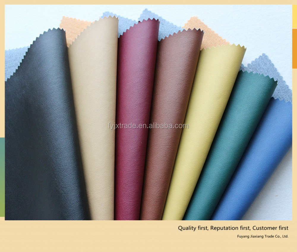 china goods wholesale cotton fabric designer and beautiful pu leather for sofa cover material