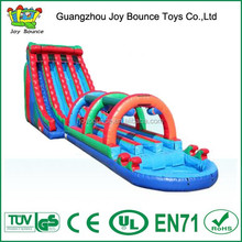 big inflatable water slide,character design slide for hot sale,inflatable long slide