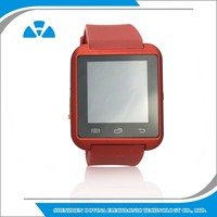 Christmas promotion touch screen watch phone Bluetooth android smart watch cheapest watch wholesale and OEM