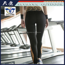 Long Black Ladies Wholesale Yoga Wear