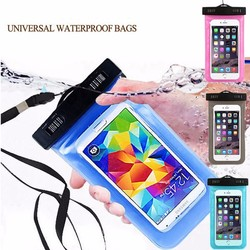 Hotest sales waterproof phone bag with shockproof for universal mobile phone PVC waterproof bag