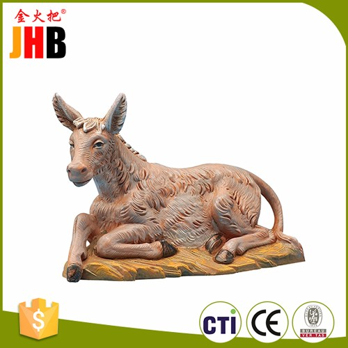 JHB Ox Donkey Sheep Camel Nativity Figurine