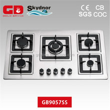 2015 Cast iron power butane gas stove for steel panel gas stove