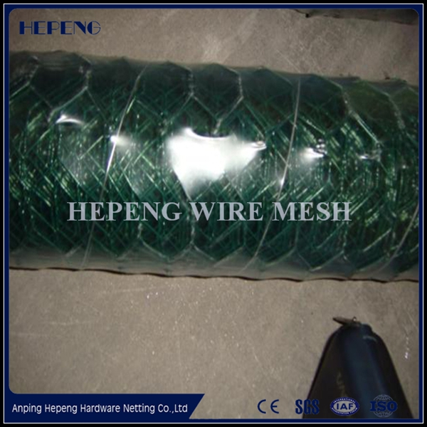 1/2 Inch PVC Coated Galvanized Hexagonal Wire Mesh Netting/Professional Manufacturer
