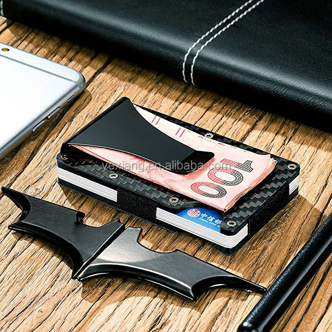 Yexiang Personalized metal unique cheap wallet money clip