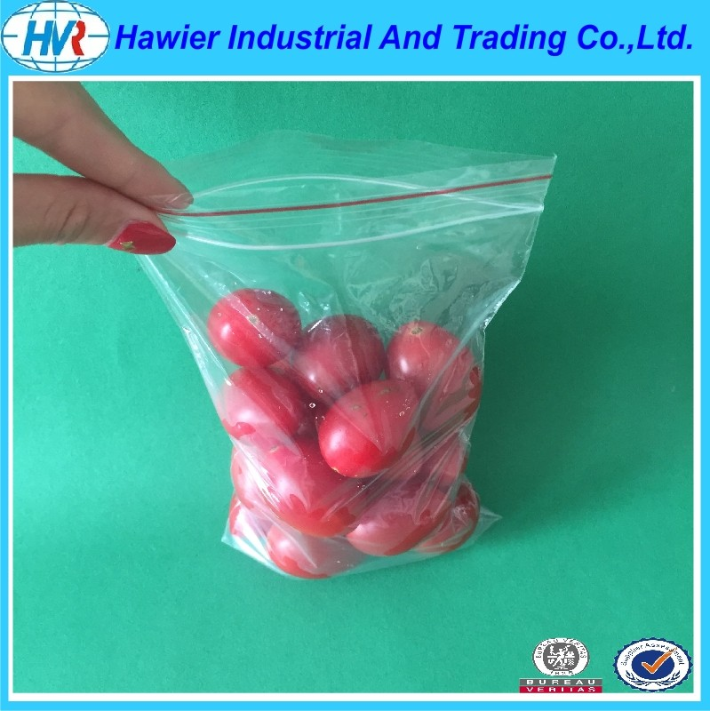 China plastic zipper food packaging from Hawier