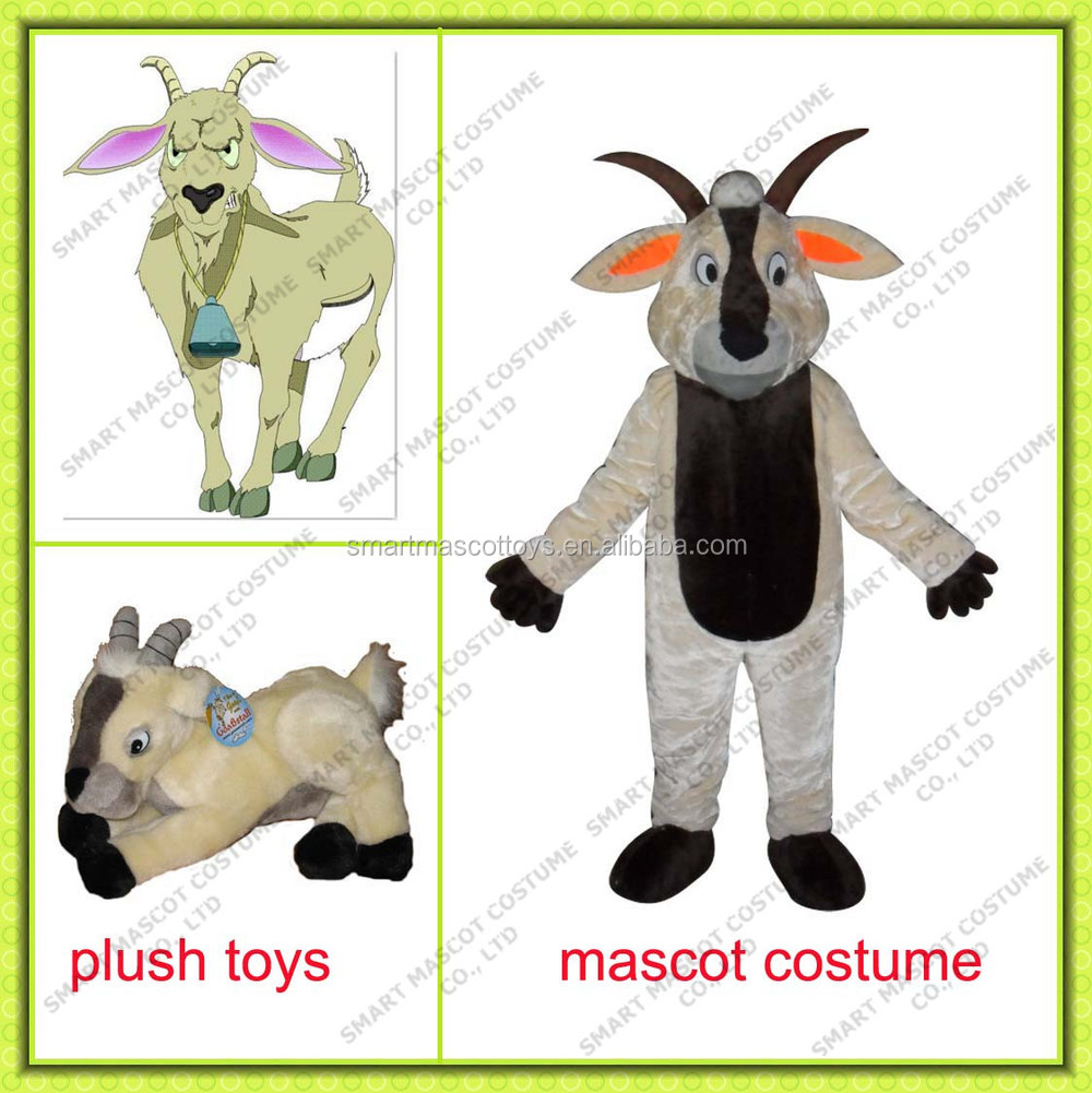 promotional cow plush mascot costume and plush toys custom