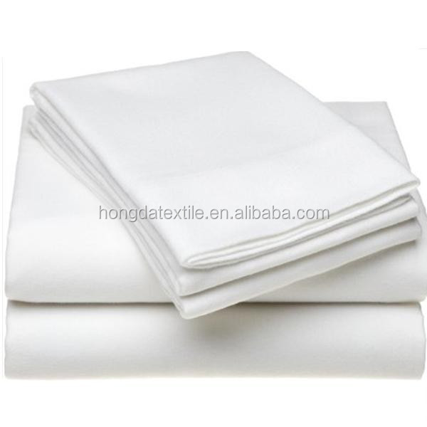 200TC 50% cotton 50% polyester used hotel bed <strong>sheets</strong>
