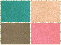 PVC Lychee Artificial Leather Fabric