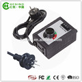 good quality 230V / 50HZ hydroponic system fan silicon Speed Controller