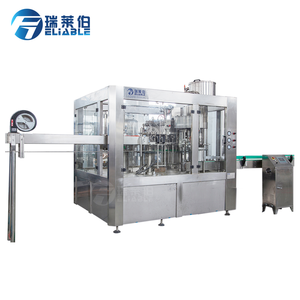 Automatic Carbonated Drink Production Line Filling Machine/Plant with Mixing machine