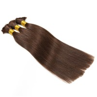 7A Best Quality Professional Remy Virgin Hair Bulk Wholesale 22""