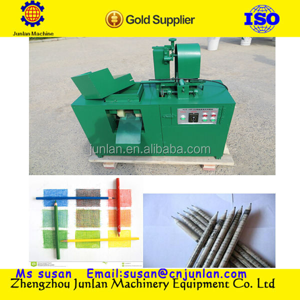 newspaper waste paper pencil production line 0086-18637188608 skype:junlanmachine168