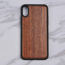 Slight PC Shell Real Wood Case for iPhone X