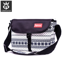 Polyester shoulder women messenger bag