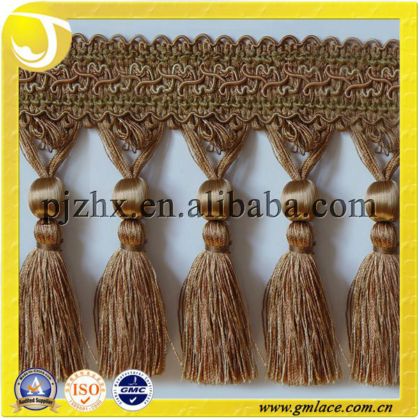 Handmade Curtain Trimming Tassel Fringes for Curtains