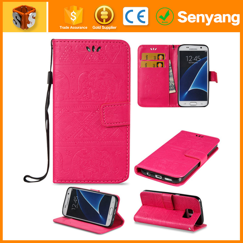 new products 2016 trending leather back cover for samsung galaxy s4