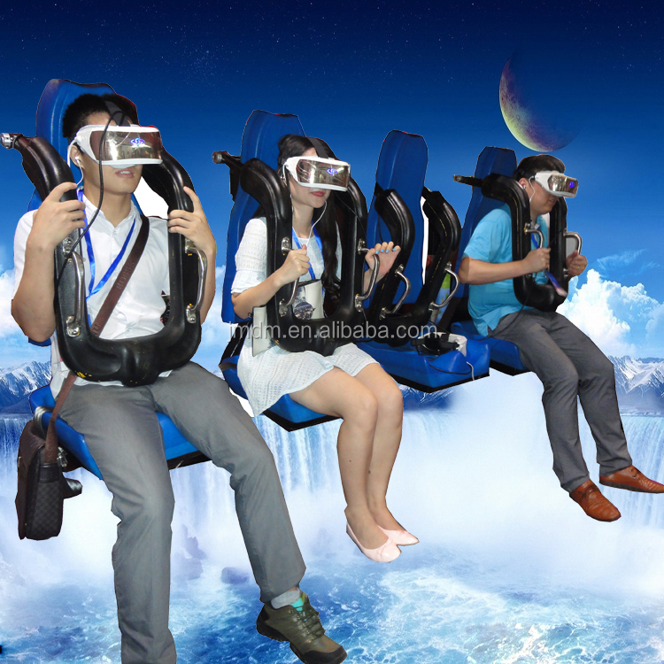 360 flying hanging flight 7d cinema of Virtual Reality simulator new attraction in mall