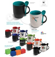 Colour Changing Mug with Spoon