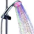 7 colors jump flashing Bathroom water glow shower led 8008-A6