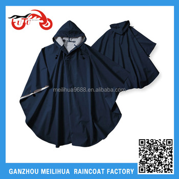 Wholesale Men's Hooded Waterproof Rain Poncho