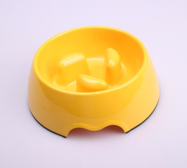 Food grade Non-toxic slow feeding melamine pet bowl dog bowl