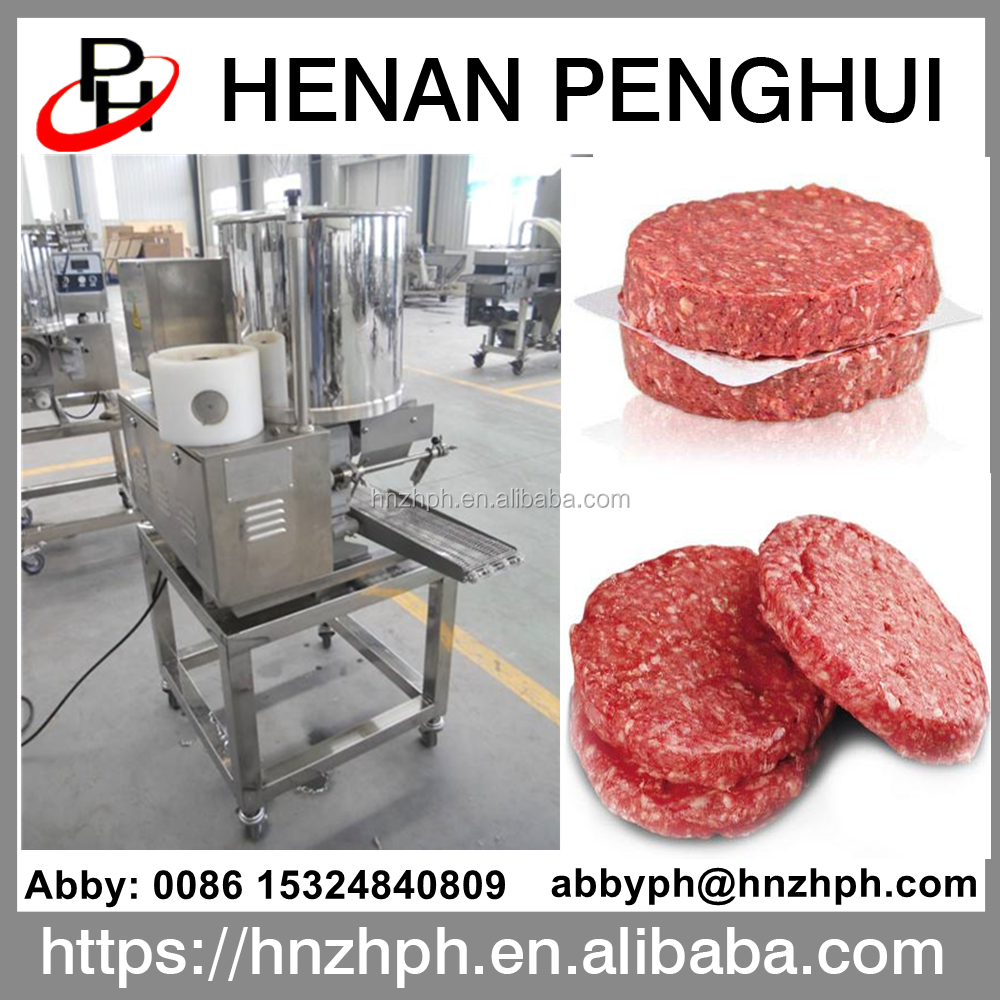 Widely used automatic hamburger beef patty forming machine