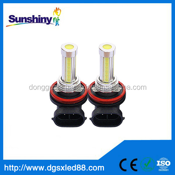 Auto LED COB h11 fog lamp for honda crv 12v/24v 2 years warranty