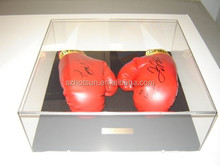 Acrylic display box for boxing glove sport display box