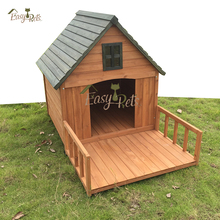 Flat Roof Wood House Cage Xxl Dog Kennel