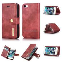 for iPhone 7 7 Plus detachable wallet case, restore multi-function leather case for iPhone 5 6 6 Plus