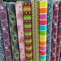 High quality competitive price wholesale reactive printed cotton fabric for garment