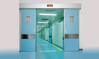 High quality best price hospital sliding door
