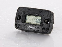 New design! Digital Inductive Resettable Hour Meter timers Motocross gas engine boat engine