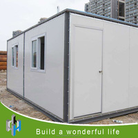 2016 newly container house expandable cabin.
