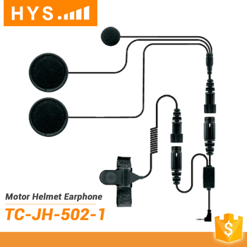 Military Headset Motorcycle Helmet Waterproof Two Way Radio Headset