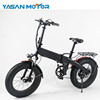 500W 2018 Fat Tire Folding Electric Bike For Adults With 48V 8.7Ah LG Lithium Battery