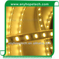 High lumen 2700-6000K flexible PCB width 10mm 24 volt 5630 led strip