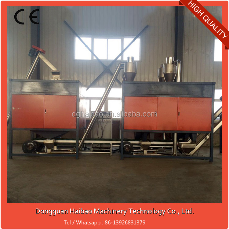 Large-scale High Voltage Proffesional Electricity / electrostatic separator for separating ABS,PS,PP,PET etc mixed materials