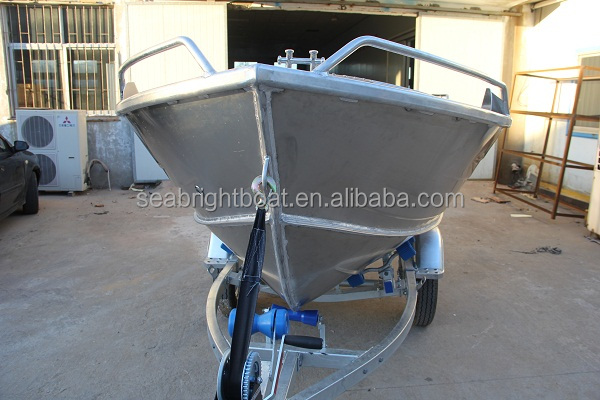 2015 China High Quality Aluminum Bass Fishing Sailing Yacht