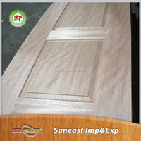 Safety single wooden door design