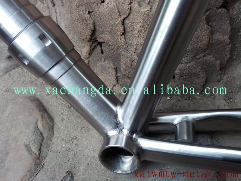 titanium road bike frame with coupler titanium coupler road bike frame