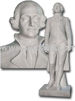 Marble statue-George Washington