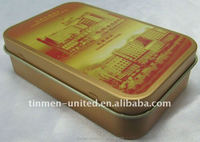 small metal tin box