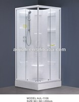 AJL-1106 pinghu hot sale ABS cheap shower enclosure