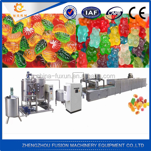 Professional soft candy machine/equipment/production line/assembly line