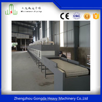 Best-selling in USA !!! Gongda contunuous fast Microwave Drying Equipment Microwave Dryer for Fruit/Vegetable/Grain