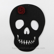 felt ornament Halloween face mask wall decoration